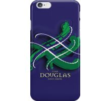 Douglas Tartan Twist iPhone Case/Skin
