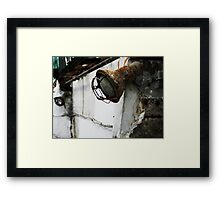 Rust Out Framed Print