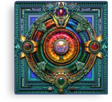 Earth Mandala  Canvas Print