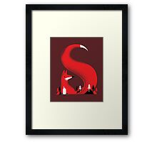 S like fox Framed Print