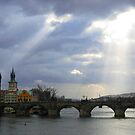 Charles Bridge, Prague by Rudolf