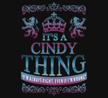 it's a CINDY thing by RooDesign