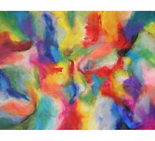 """Euphoria"" original abstract artwork by Laura Tozer by Laura Tozer"