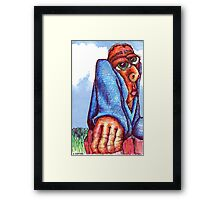Claude Framed Print