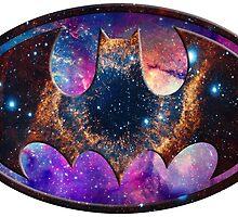 Galaxy Batman by rachfaceburrdog