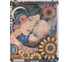 The Sun and The Moon Romantic Art of Lovers. iPad Case/Skin