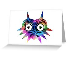 Majora's Mask Color Greeting Card