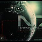 Mass Effect N7 monitor shot by thatstickerguy