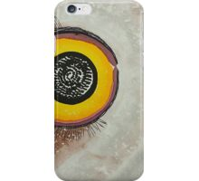 Wise Owl original painting iPhone Case/Skin
