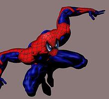 Friendly Neighborhood Spiderman by Dan Snelgrove