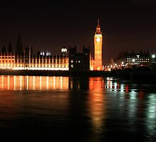 Big Ben And The Houses Of Parliament by BritishYank