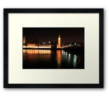 Big Ben And The Houses Of Parliament Framed Print