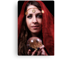 The fortune teller Canvas Print