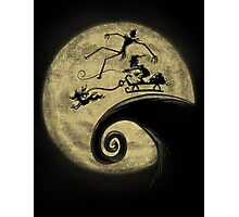 The Nightmare Before Grinchmas Photographic Print