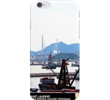 A Walk at the feet of the ICC - Hong Kong. iPhone Case/Skin