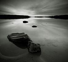Beach, Rocks and Water by Anders Naesset