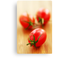 Small tomatoes Canvas Print