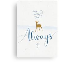 "Harry Potter ""Always"" Canvas Print"