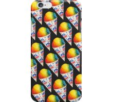 Snow Cone Pattern iPhone Case/Skin