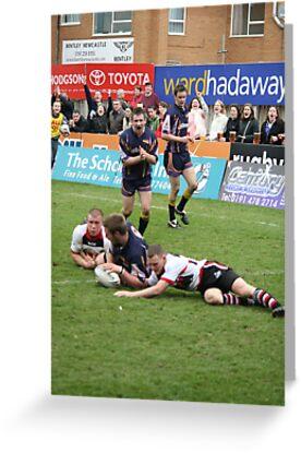 Gateshead Thunder 2007 - Jonny Scott by Paul Clayton