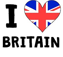 I Heart Britain by kwg2200