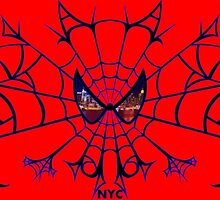 SPIDEY NYC BLUE by popcultchart