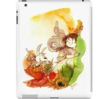 """PEEKABOO"" from the series ""Angels of Protection"" for Kids iPad Case/Skin"