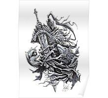 Artorias and Sif - Dark Souls Poster