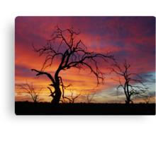 Mystic Sunset Canvas Print