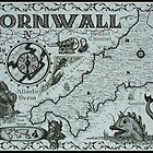 Cornwall Map by Dylan Cotton