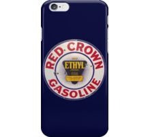 Red Crown Ethyl Gasoline iPhone Case/Skin