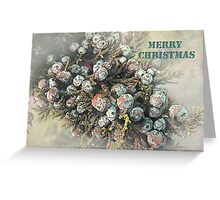 """All Spruced Up """"Merry Christmas"""" ~ Greeting Card Greeting Card"""