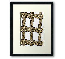 pigtail ornament Framed Print