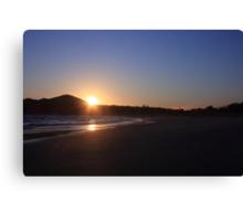 byron sunrise Canvas Print