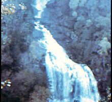 WHITE WATERFALL by JOHNNYC