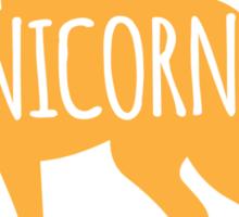 Crazy Unicorn lady Sticker