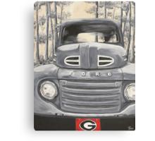 GA Truck Canvas Print