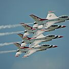 USAF Thunderbirds by Andy Mueller