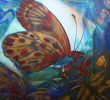 Mixed media: Regarding Lepidoptera by Marion Chapman