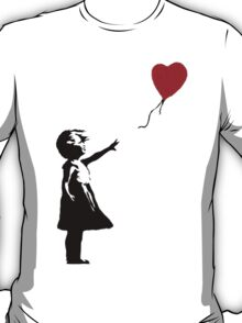 Banksy Red Balloon T-Shirt