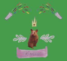 Princess Hamster Banner Mouse Kids Clothes