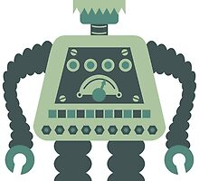 Digital Robot by pounddesigns