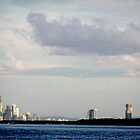 Surfers Paradise Skyscape by Virginia McGowan
