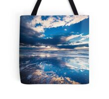 extreme sunset reflections  Tote Bag
