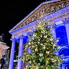 Royal Exchange At Christmas by Graham Prentice