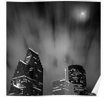 Houston di Notte Poster