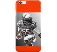 Miami Hurricanes Football Player iPhone Case/Skin