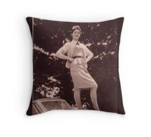 Memories of the Fifties A 90 #2 Throw Pillow