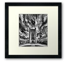 Houses of The Holy Framed Print