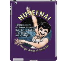 Nuveena! (With quote) iPad Case/Skin